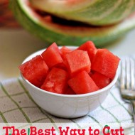Throwback Tuesday: The Best Way To Cut A Watermelon