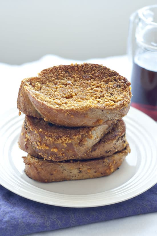 Really Crunchy French Toast | Heather Likes Food