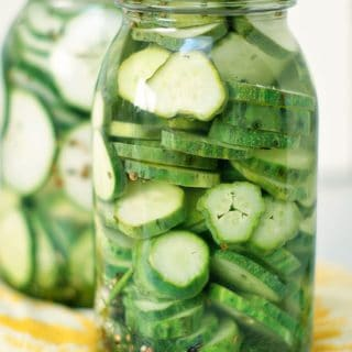Refrigerator Pickles and Giveaway! | heatherlikesfood.com