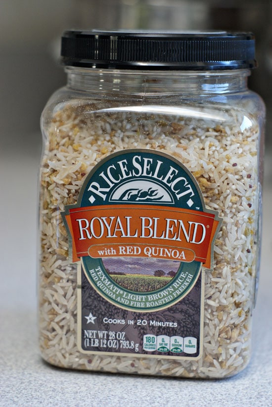 Cheesey Sausage and Rice Skillet | Heatherlikesfood.com