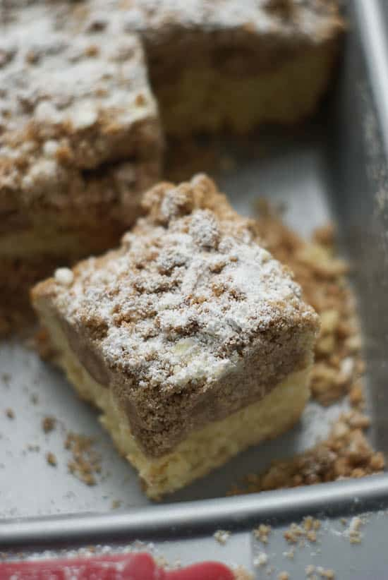 German Crumb Cake | heatherlikesfood.com