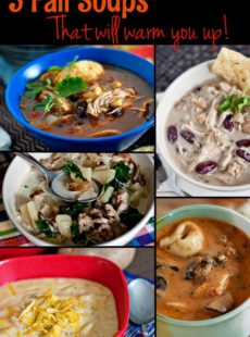 photo collage - Fall Soup Round Up