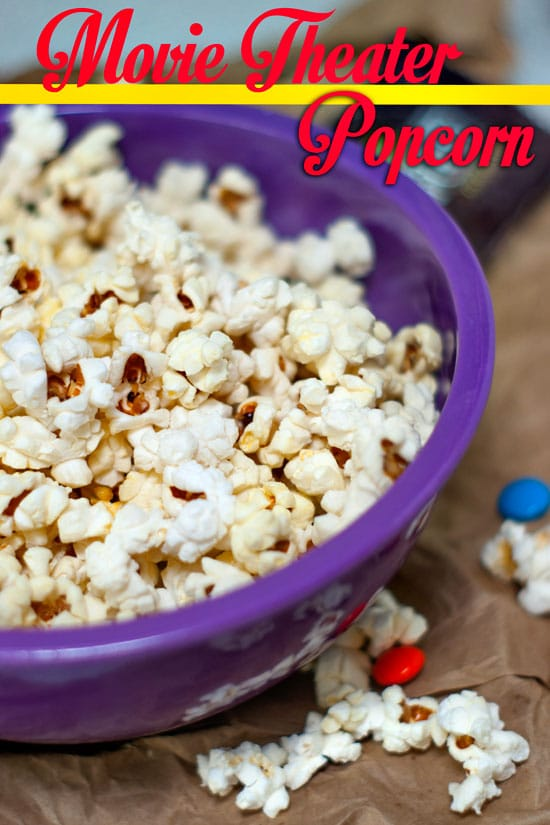 Movie Theater Popcorn | heatherlikesfood.com