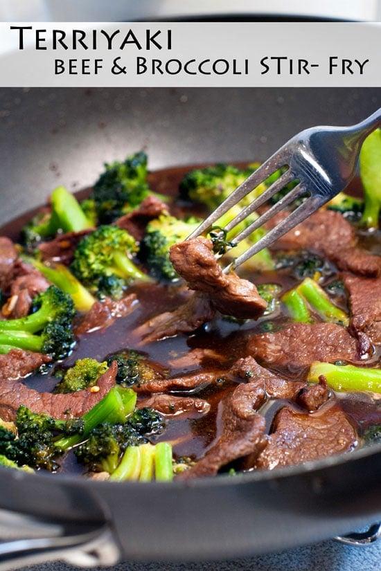 Terriyaki beef and Broccoli Stir Fry | heatherlikesfood.com
