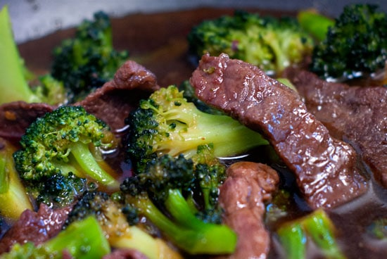 Terriyaki beef and Broccoli Stir Fry | heatherlikesfood.com