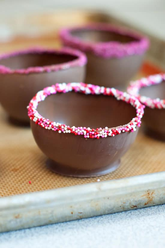 How to Make Chocolate Cups | heatherlikesfood.com