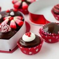 Mini Chocolate Box Cupcakes