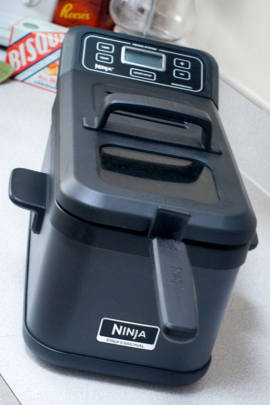 Ninja Professional Frying System on a white table.