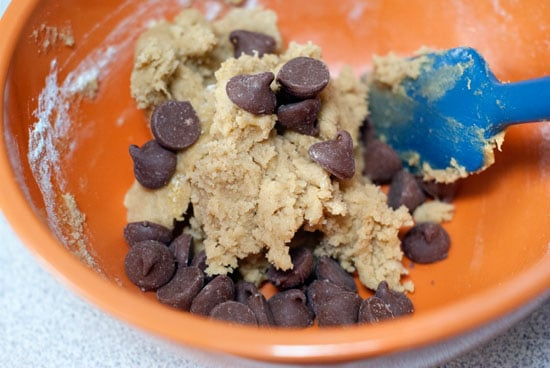 Microwave Chocolate Chip Pizookie {For Two} | heatherlikesfood.com