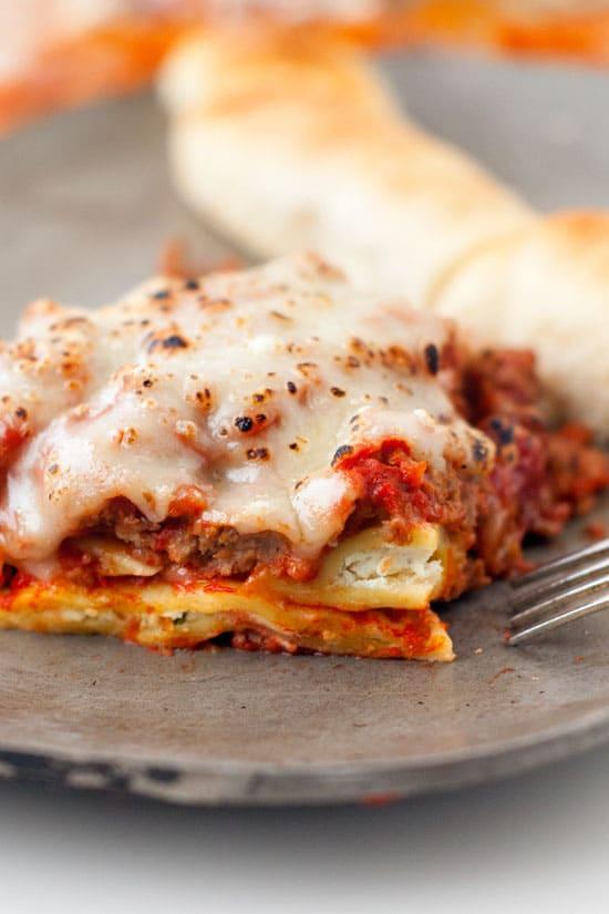 Ravioli Lasagna | heatherlikesfood.com
