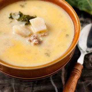 5 Ingredient Zuppa Toscana | heatherlikesfood.com