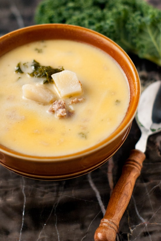5 Ingredient Zuppa Toscana | heatherlikesfood.com