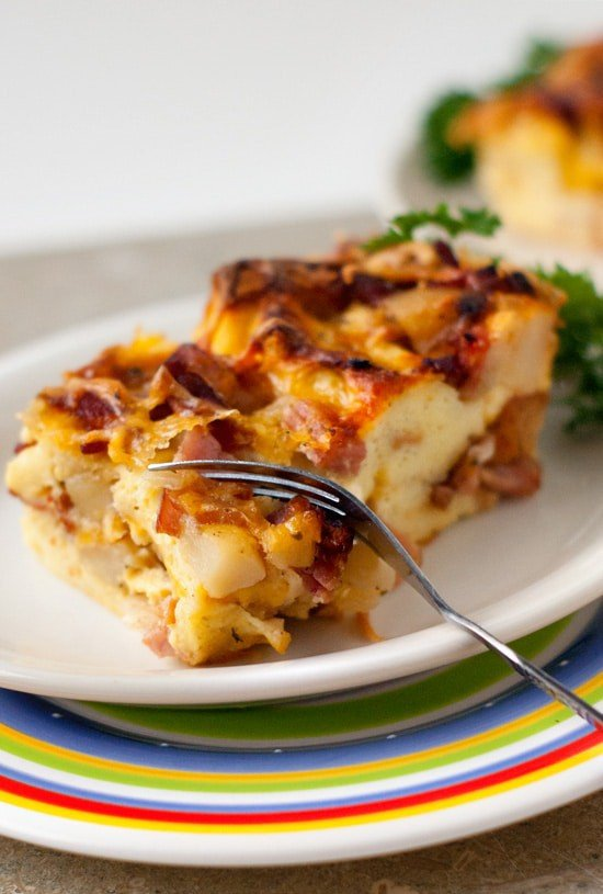 Hearty Ranch Breakfast Strata