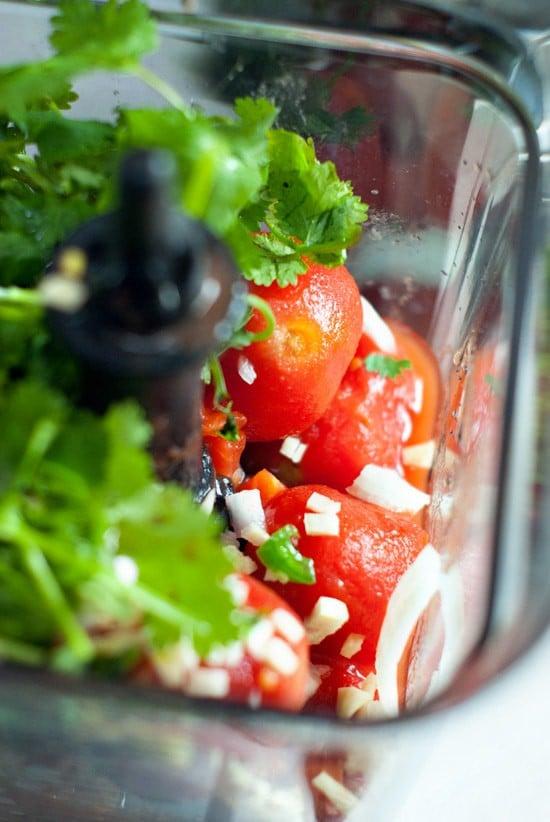 Restaurant Style Salsa | heatherlikesfood.com