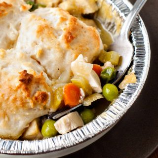 Biscuit Topped Chicken Pot Pie | heatherlikesfood.com