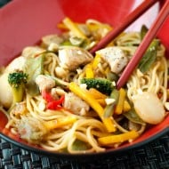 Sweet Chili Chicken Lo-Mein