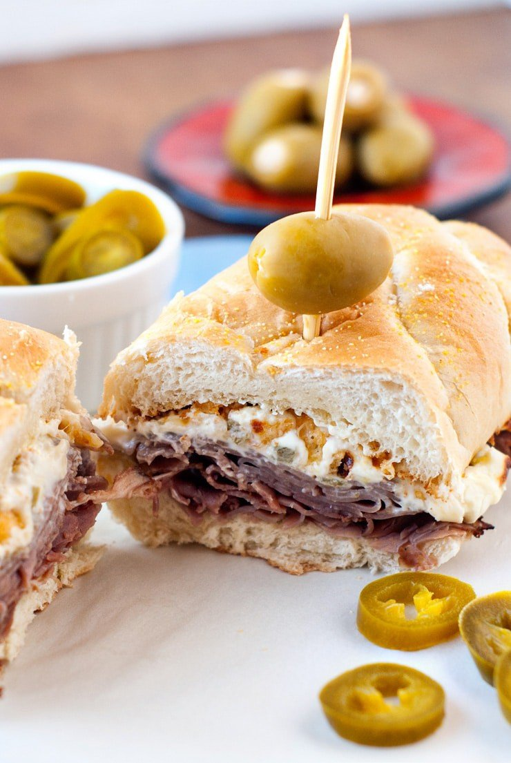 Jalapeno popper cheesesteaks | heatherlikesfood.com