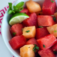 Summer Melon Salad | Heatherlikesfood.com