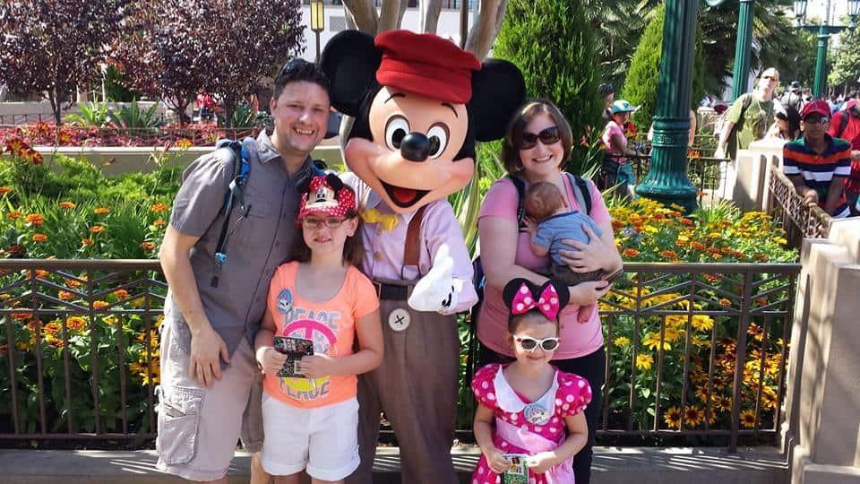 Disney family pic