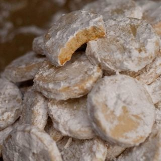 Lime Meltaway Cookies | heatherlikesfood.com