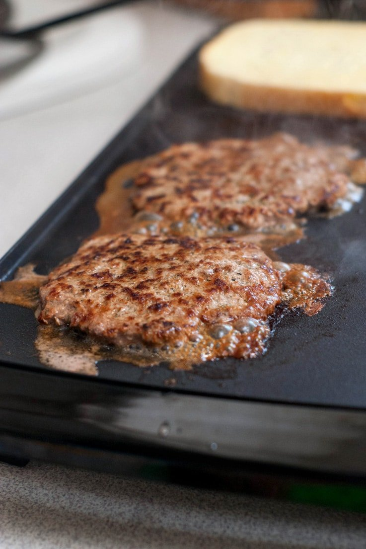 Grilled Burger Patties