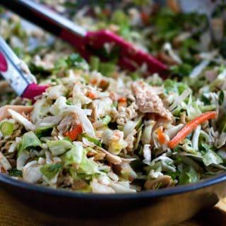 Chopped Asian Chicken Salad   heatherlikesfood.com
