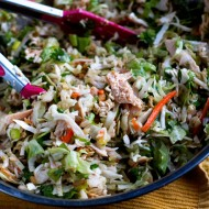 Chopped Asian Chicken Salad | heatherlikesfood.com