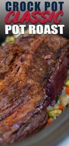 pot roast browned n crock pot