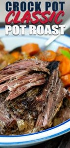 pot roast made in slow cooker with vegetables