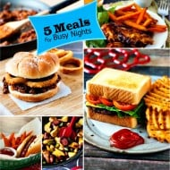 5 meals for busy nights |heatherlikesfood.com