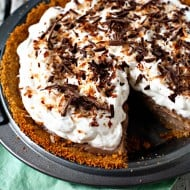 Milk Chocolate Coconut Cream Pie | heatherlikesfood.com
