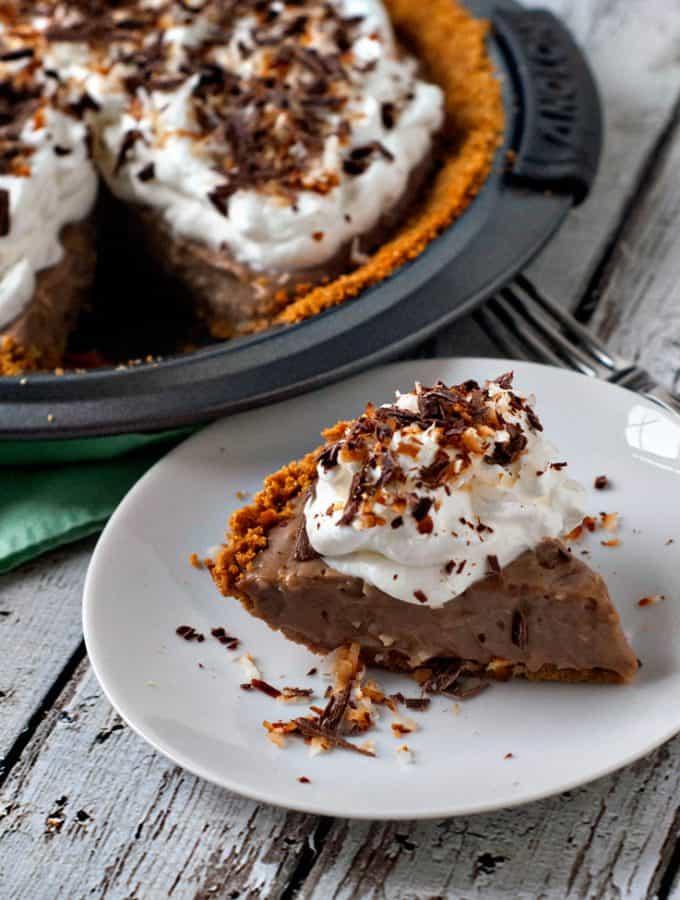 Milk Chocolate Coconut Cream Pie