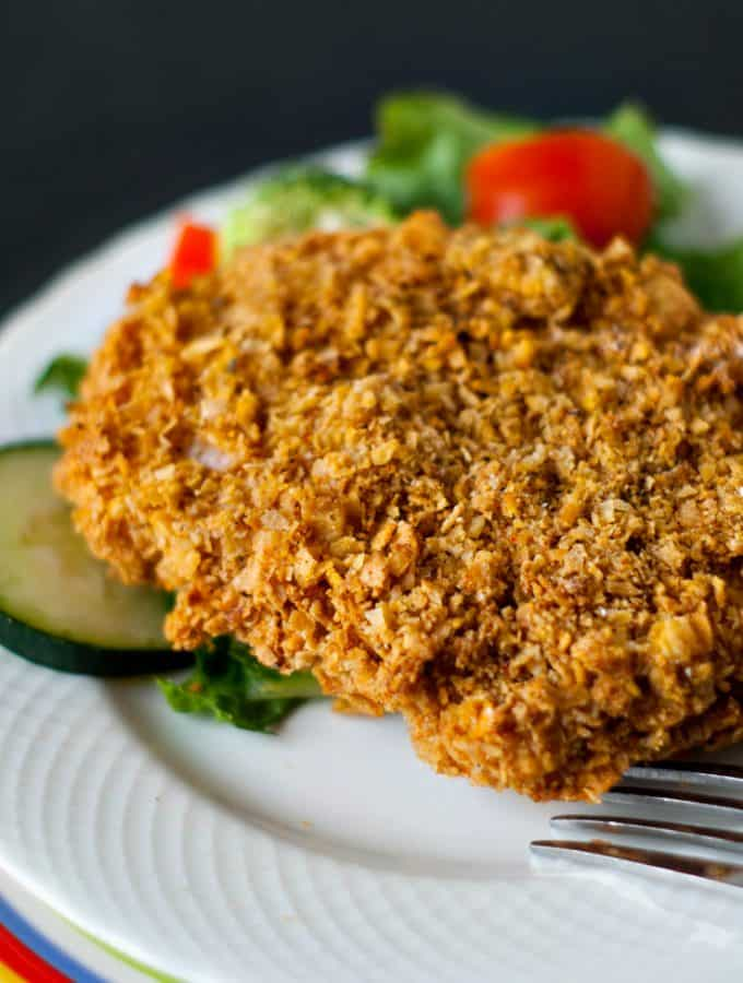 Skinny Fried Chicken   heatherlikesfood.com