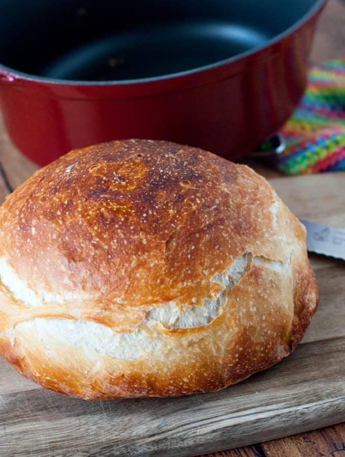 Overnight No Knead Bread | heatherlikesfood.com