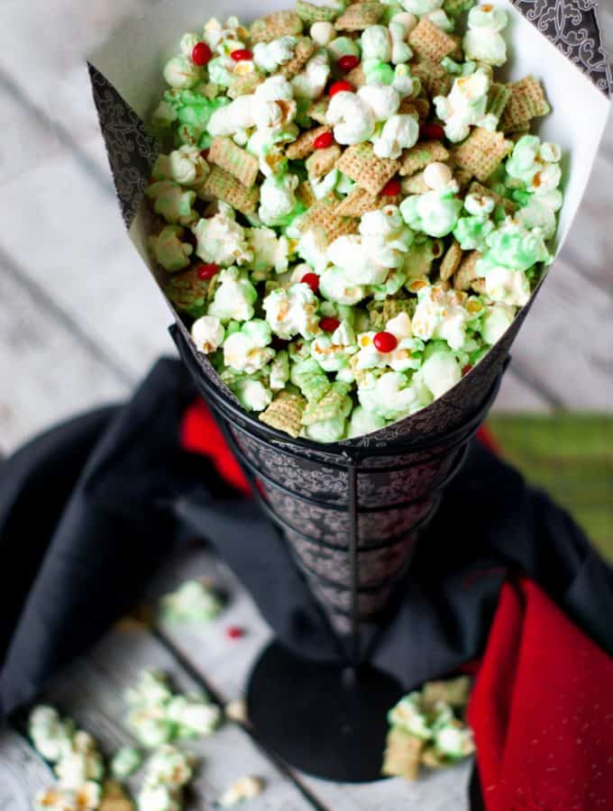 How The Grinch Crunched Christmas Popcorn