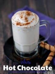 White Hot Chocolate | heatherlikesfood.com