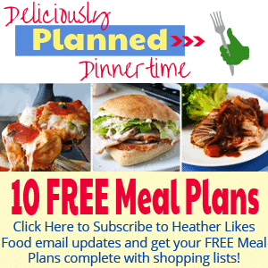 10 Free Meal Plans