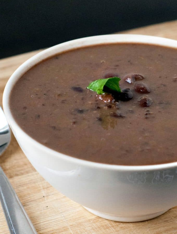 Smoky Black Bean and Ham Soup