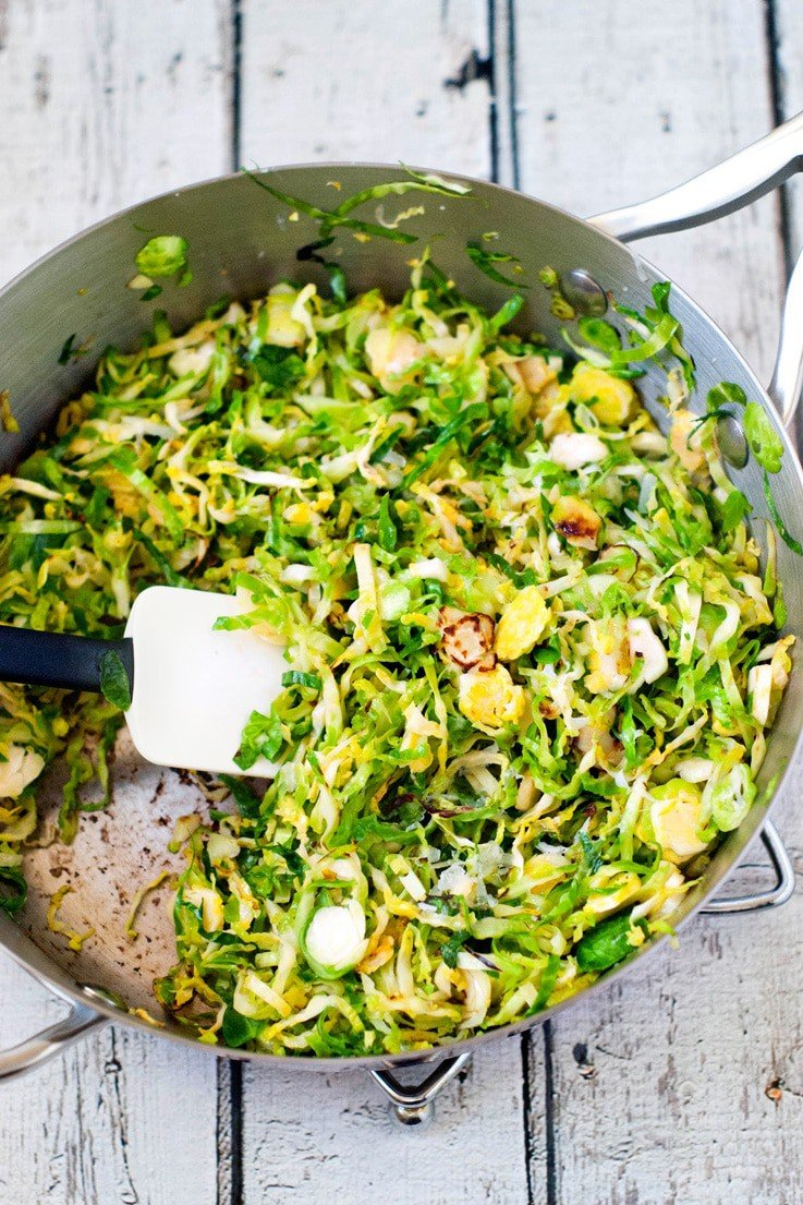 Similar situation. shaved brussel sprouts recipe consider