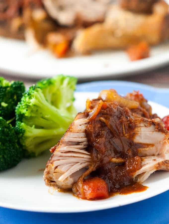 Slow Cooker Cumin Roasted Pork