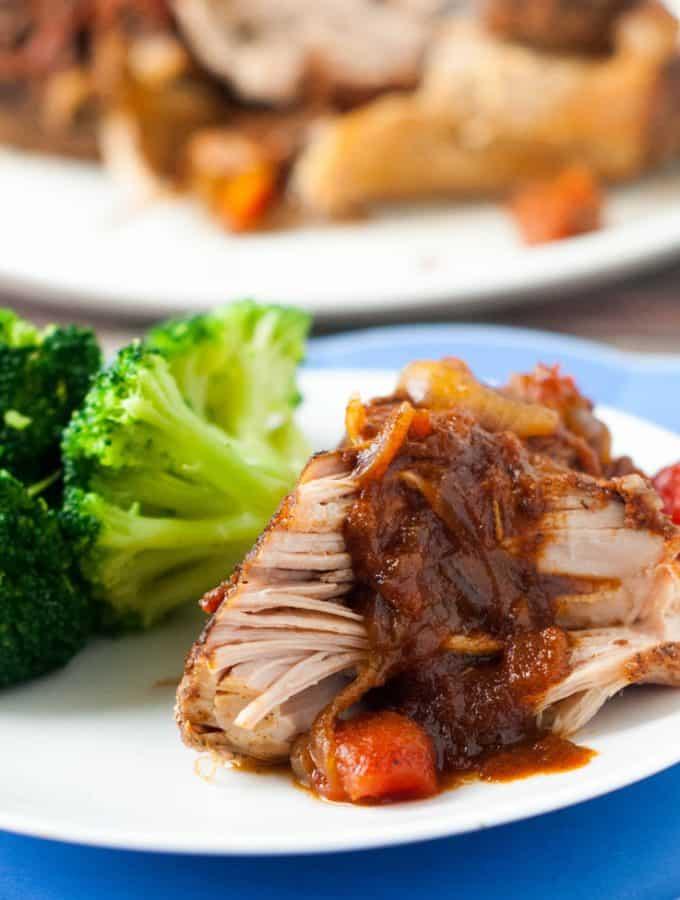 Slow Cooker Cumin Roasted Pork