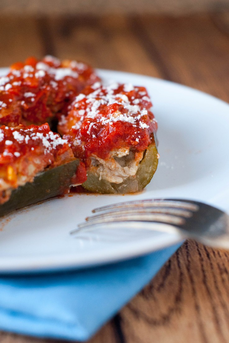 Sausage Stuffed Zucchini Boats: The perfect paleo, Whole 30 or low ...