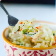 Apple Poppy Seed Coleslaw