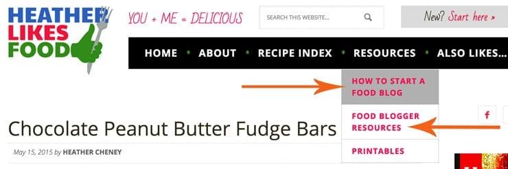 How to Start a food blog   heatherlikesfood.com