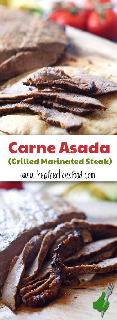 Carne Asada | heatherlikesfood.com