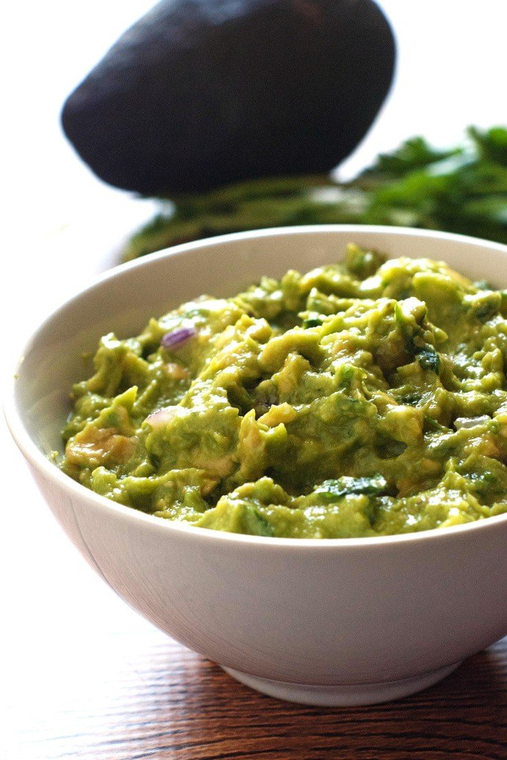 Chipotle Guacamole Recipe | heatherlikesfood.com
