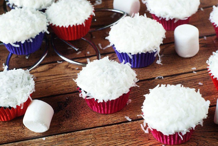 Snowball Cup Cake Recipe