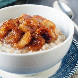 Caramelized Banana Oats Recipe