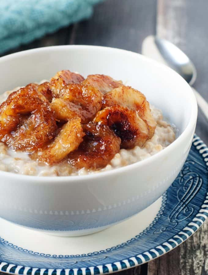 Caramelized Banana Oats