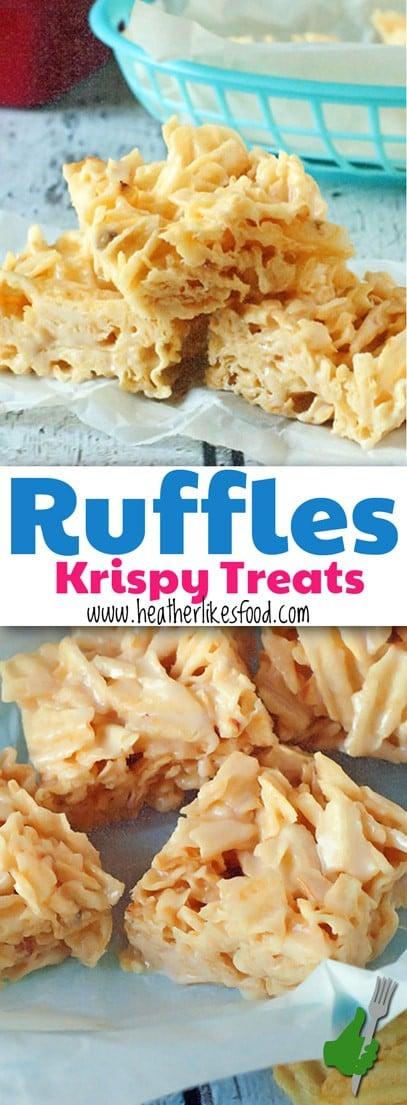 Ruffles Krispy Treats